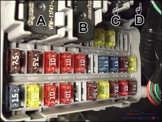 2012 Civic Fuse Panel Diagram Civic 2001 2005 Fuse And Relay Info Civic Pakwheels Forums