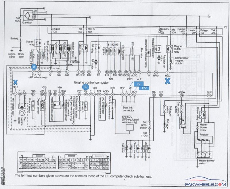 electrical starter wiring diagram clarion car radio stereo audio mira le-l250v 2006 - cuore pakwheels forums