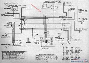 Super Power CD70 bike wiring diagram  General Motorcycle