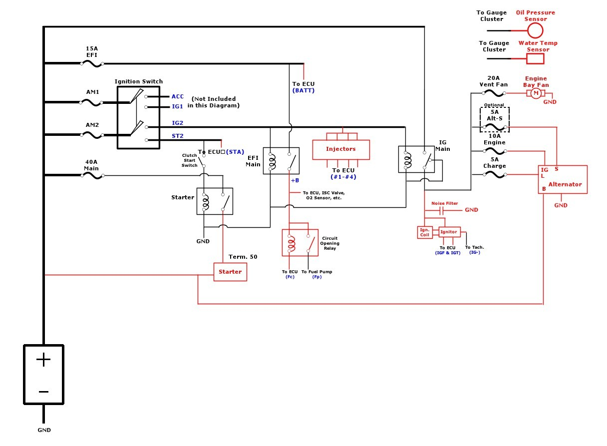 hight resolution of toyota ee90 2e to 4efe engine swap