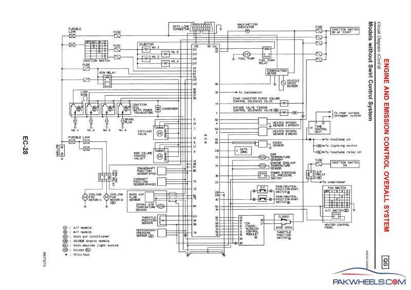 Nissan Primera P11 Zv Schaltplan