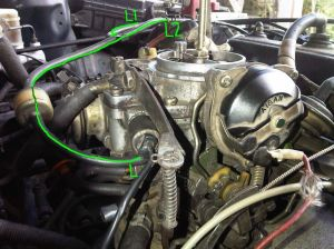 Toyota 2e aisan carburetor acclactor wire adjustment  MechanicalElectrical  PakWheels Forums