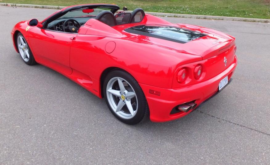 2003 360 Spider F-1