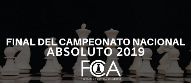 Bases Final Nacional Absoluta 2019