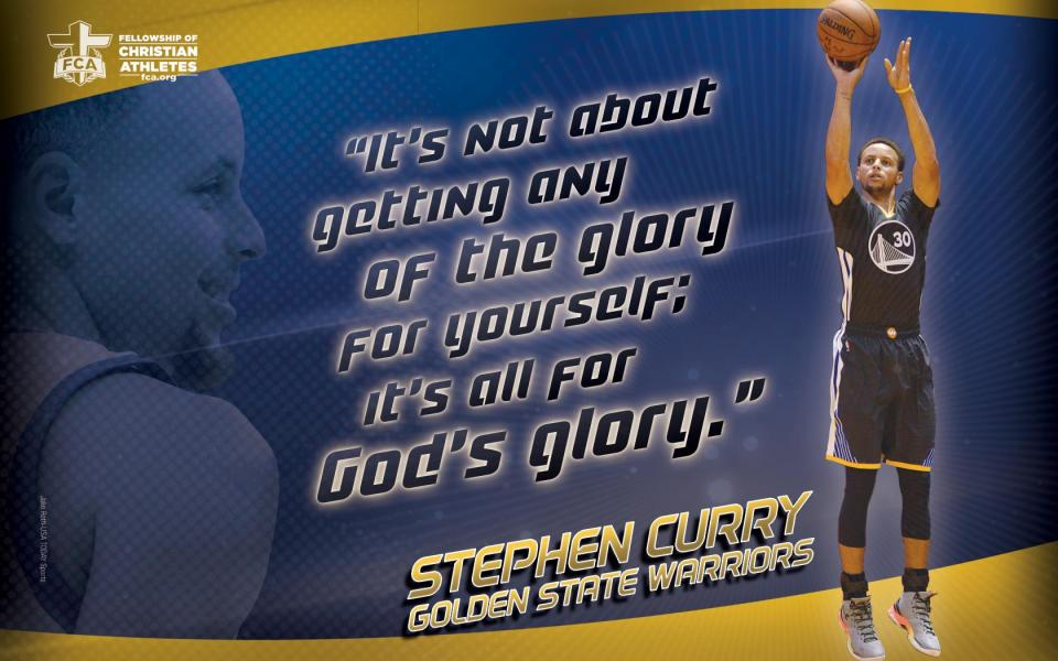 Christian Quotes Desktop Wallpaper Stephen Curry 2016 Fca Resources