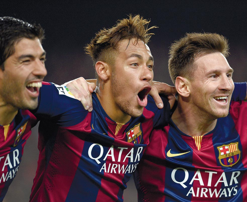 The unstoppable MSN targeting 118 goals