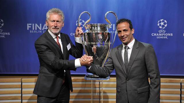 Ludovic Giuly analyses semi-finals versus Bayern Munich