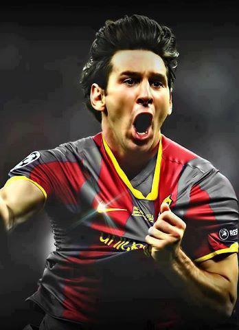 Messi hits world headlines again
