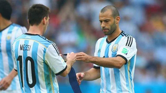 Mascherano and Messi set to face Uruguay in Copa America