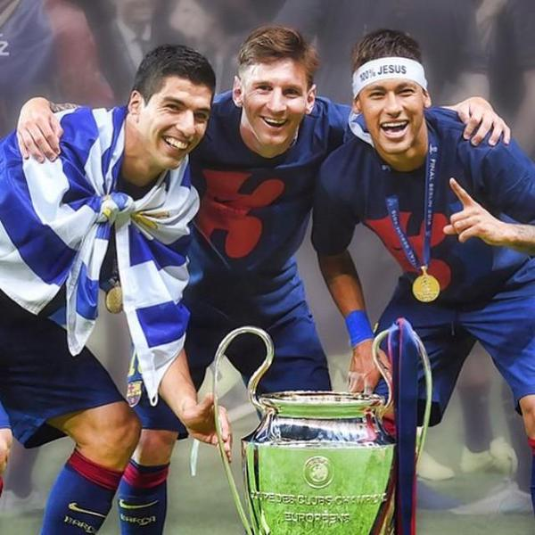 The MSN are candidates for UEFA Best Player in Europe Award