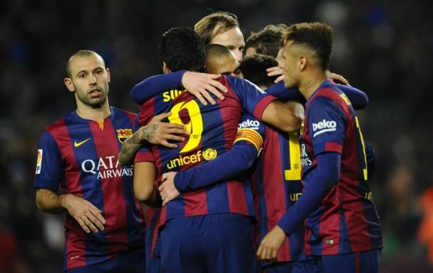 USA Tour Against LA Galaxy Barca's Kick Off