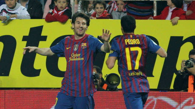 Messi wishes Pedro all the best