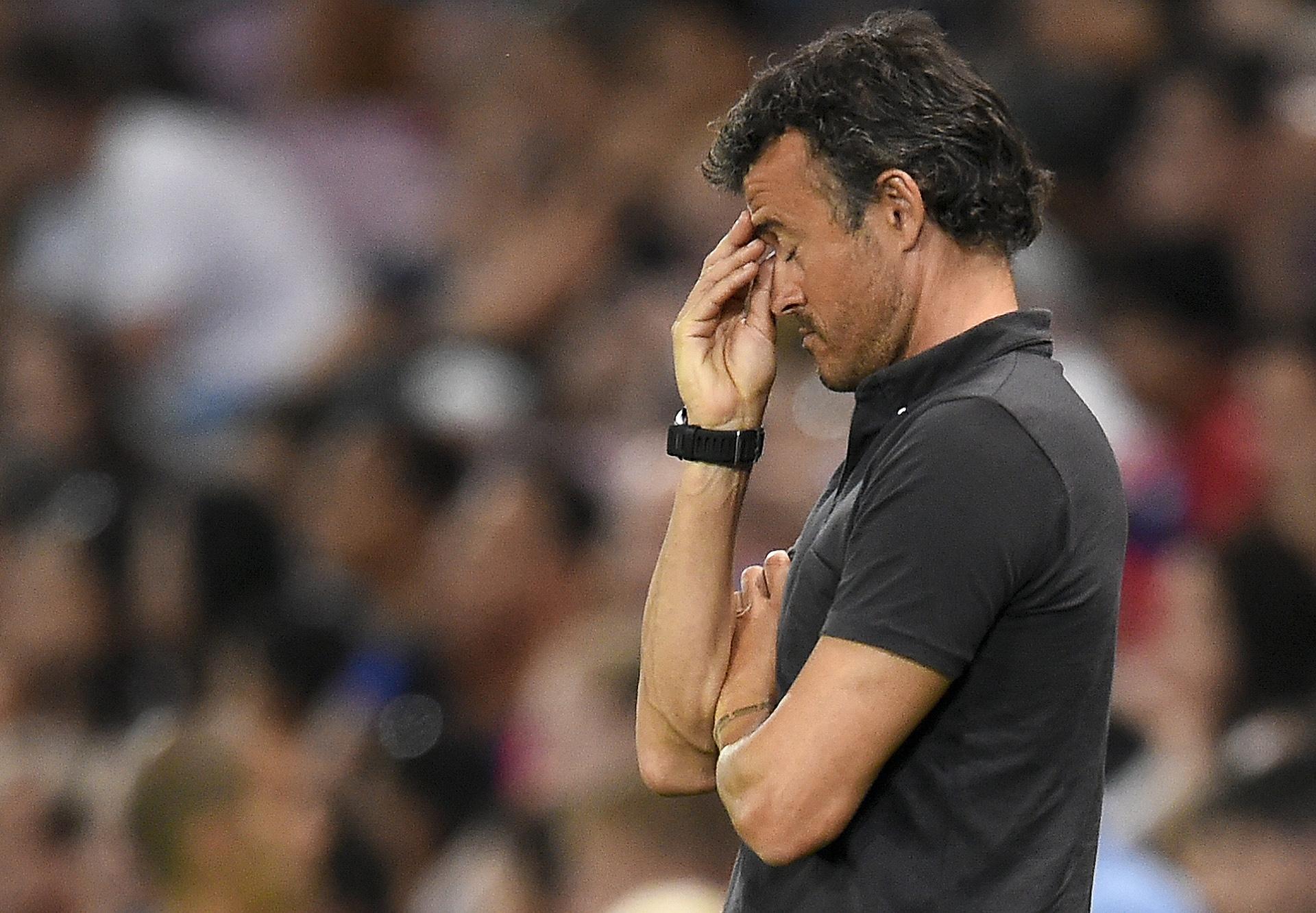 """Enrique """"Barca not good when not 100%"""""""