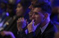 Messi reacts to winning UEFA Best Player