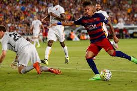 FC Barcelona Beats AS Roma at Joan Gamper Cup Game (3-0)