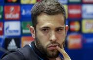 Jordi Alba ruled out of Las Palmas clash
