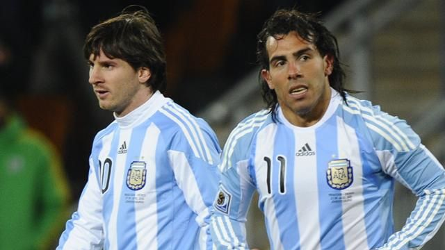 Lionel Messi, Carlos Tevez look set to renew partnership five years on""