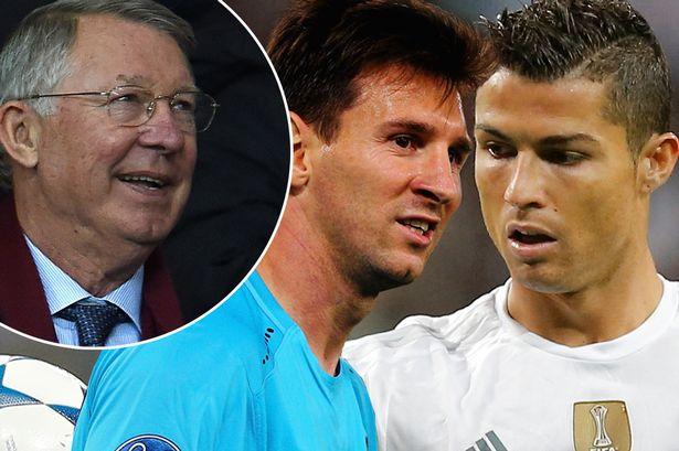"Sir Alex ""Ronaldo vs Messi"" who's the best?"