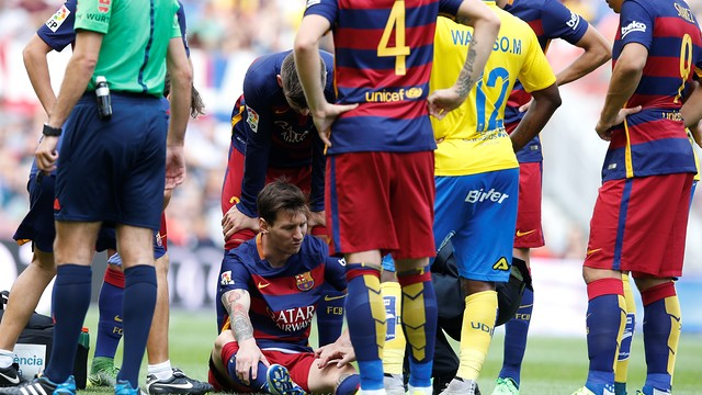 Messi injury update