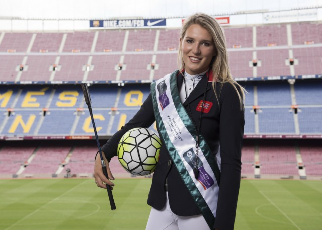 FC Barcelona throws open its doors to equestrian sport