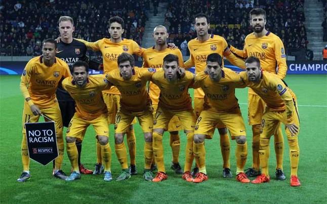 FC Barcelona squad for visit of BATE Borisov