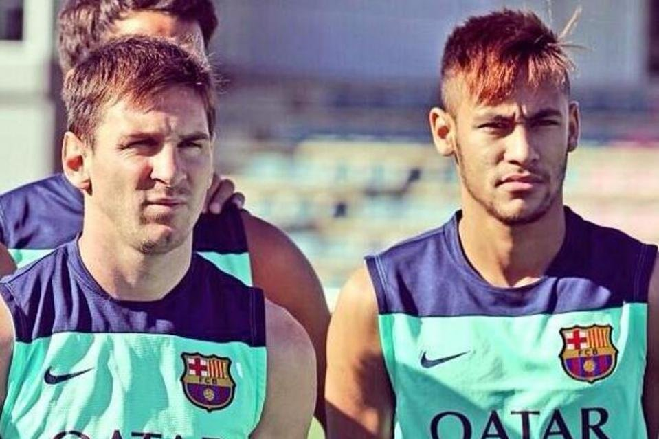 Ballon d'Or reserved for Messi says Neymar