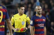 Mascherano might be suspended for 4 games