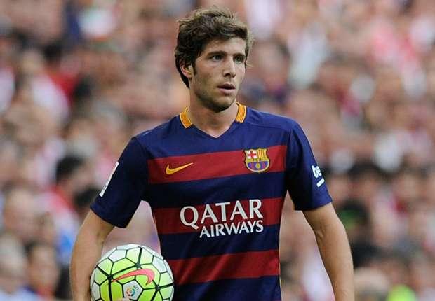 Barcelona dealt Sergi Roberto blow