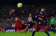 Pique might not play against Eibar