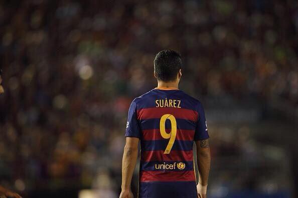 Another record for Suarez