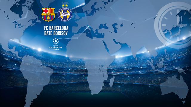Game Time: FC Barcelona vs Bate Borisov