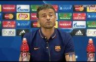 Enrique: conference Barcelona vs Valencia