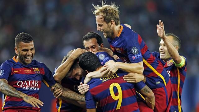 Barca Last challenge in 2015
