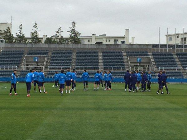 Barça keep Japan training sessions a secret
