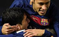 Until next year! say Messi, Neymar and Suarez