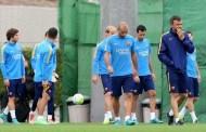Barcelona return to training