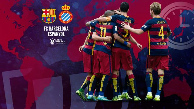 FC Barcelona v FC Espanyol timing