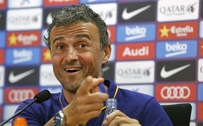 Enrique press conference before Espanyol clash