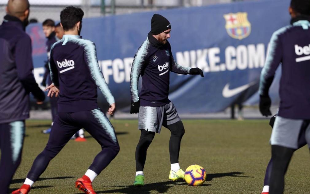 Botas amarillas Messi