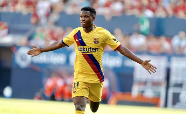 Ansu Fati Becomes Youngest Ever Fc Barcelona Goalscorer In