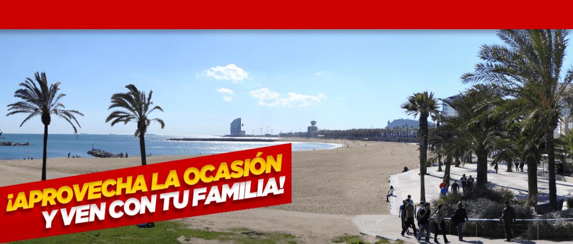 Trae tu familia al campus de chicas del FC Barcelona