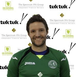 FCB goalkeeper Matthew Hutchinson