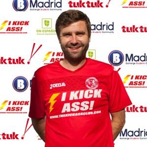 FCB Defender Barry Le Bland