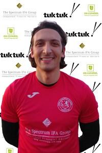 FCB defender Omar Majid Rodriguez