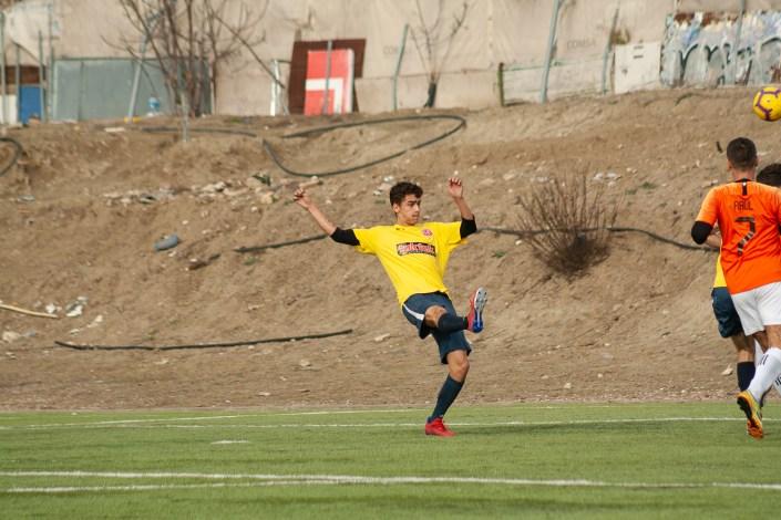 Jack Cooke in action against Torrepista