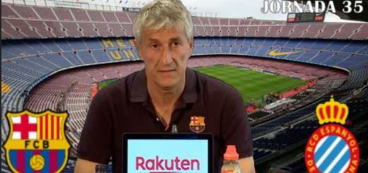 Quique Setien derbi