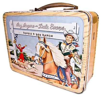 IMAGE: Vintage Roy Rogers & Dale Evans Lunchbox