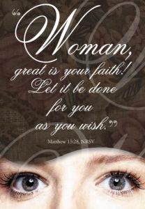 great is your faith