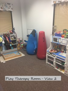Play Therapy Dallas, TX: Room View at Full Circle Counseling