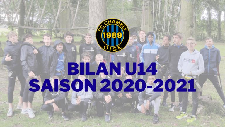 Saison 2020-2021 : Bilan U14 !